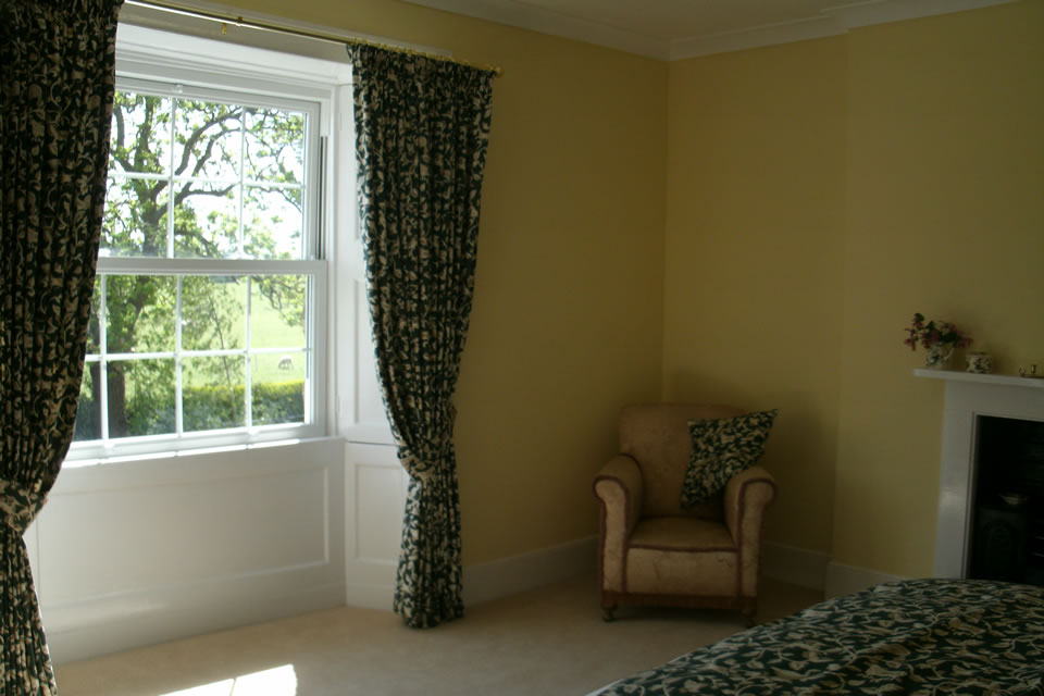 Curtain Alteration and Headboard