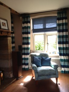 Deep Heading Curtains, Ecton, Wellingborough