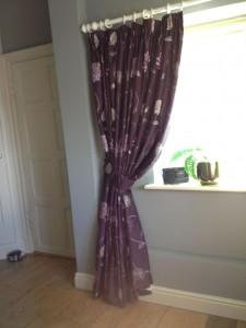 Deep Heading Curtains, Ecton