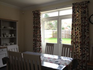 Eyelet Curtains, Seat Pads and Table Runner Kettering