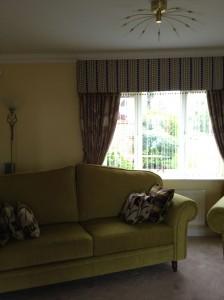 Hard Pelmet Curtains - Kettering